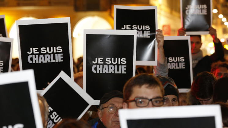Internationale saamhorigheid na aanslag Charlie Hebdo