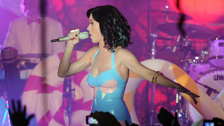 Katy Perry gehackt
