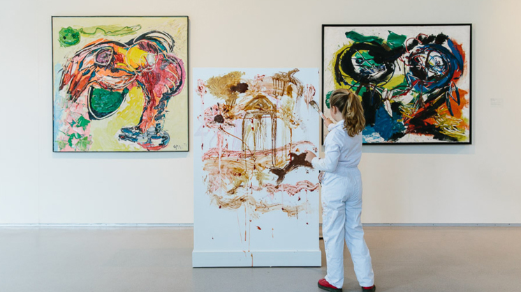 Favoriete Kinderen knoeien met kunst - EenVandaag #IM79