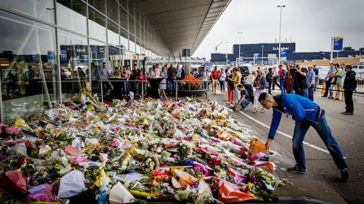 MH17-monument komt bij Schiphol