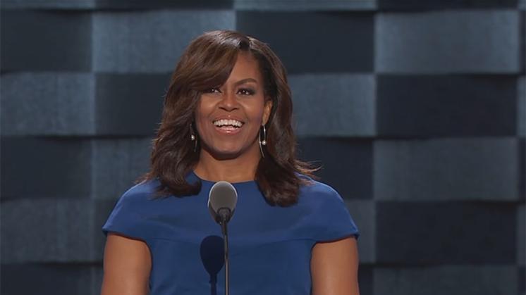 Zakenvrouw noemt Michelle Obama 'aap op hakken'