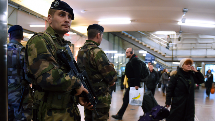 Europa in de greep van terreurdreiging