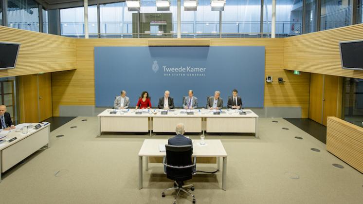 Bart Mos over verhoren parlementaire enquête