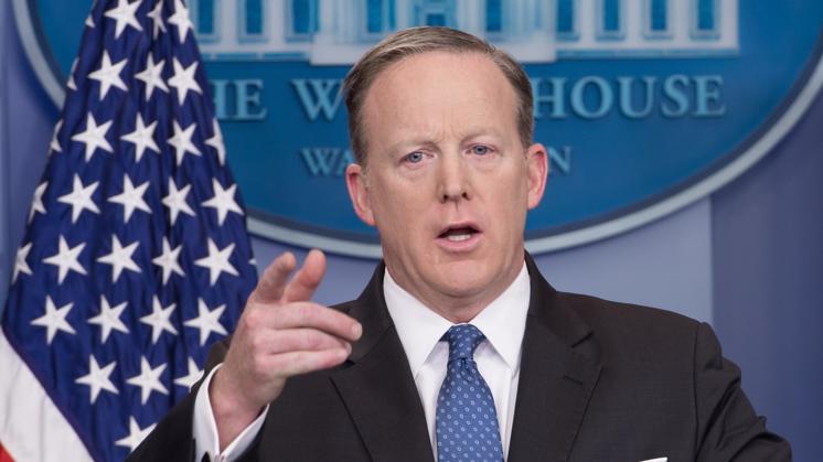 Is Sean Spicer eigenlijk kleuterleider?