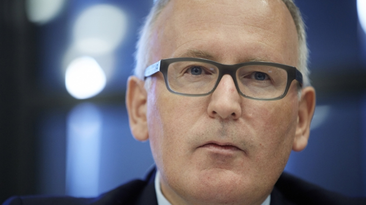 Timmermans: 'Enige alternatief EU is oorlog'