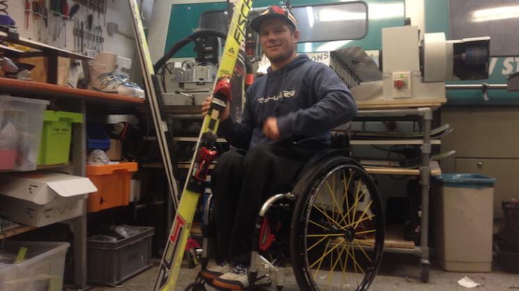 Paralympics: skiër Van der Klooster gaat voor goud