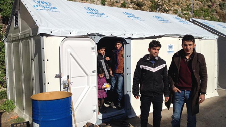 Chios: 'hotspot' voor vluchtelingenopvang