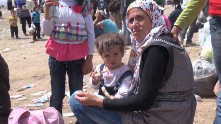 Vluchtelingenprobleem steeds nijpender