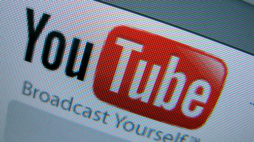 Grote storing Youtube