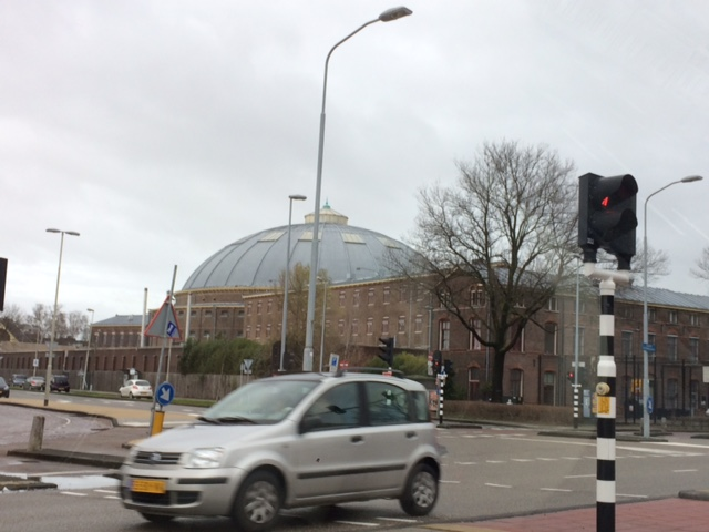 Noodopvang voor vluchtelingen in koepelgevangenis Haarlem
