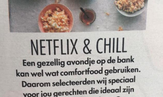 Albert Heijn in de problemen door 'Netflix & Chill'