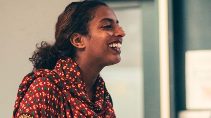 Milka Yemane helpt vluchtelingen uit Eritrea met integreren