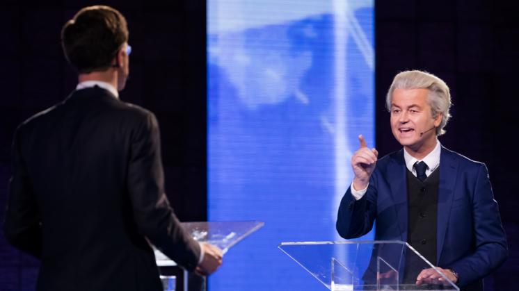 Vinnig debat Wilders-Rutte