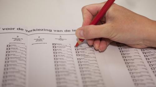 Jongeren tegen stemmen vanaf 16 jaar
