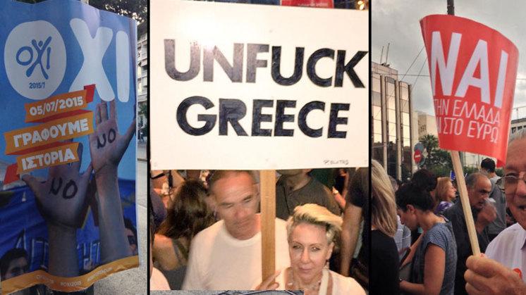 Referendum splijt Griekenland