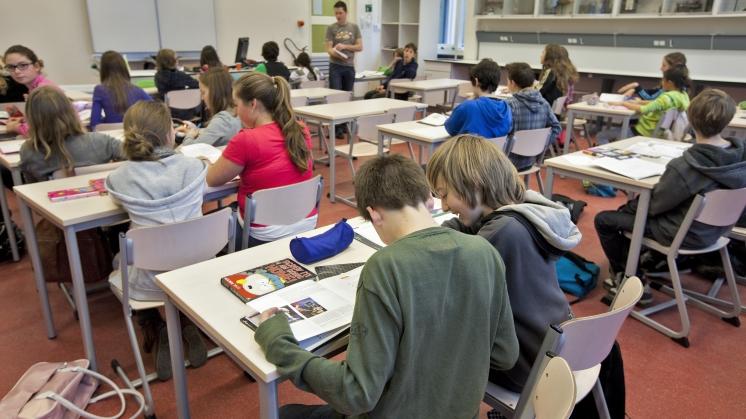 Leraren voor maximum aantal leerlingen per klas