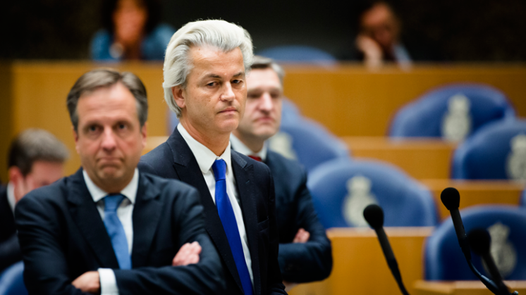 Portret: Wilders en Pechtold