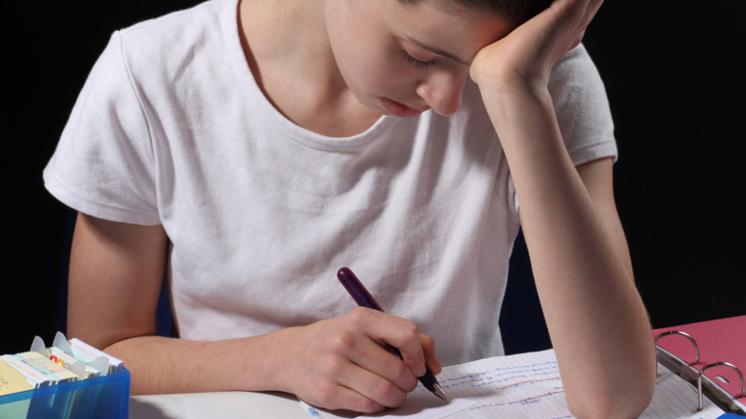 Helft jongeren wel eens thuis door stress